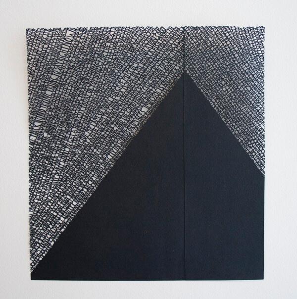 Annie vought - sculpture en papier découpé