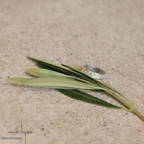 Feuille d'olivier, Argent