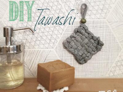 Tawashi, fabriquer son éponge écologique 0 déchet DIY en 10 min