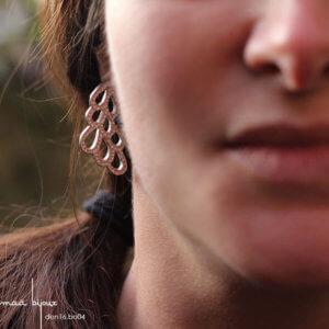 maa bijoux - boucles d'oreilles en argent massif recyclé, bijou écologique et ethique made in franceden16.bo04